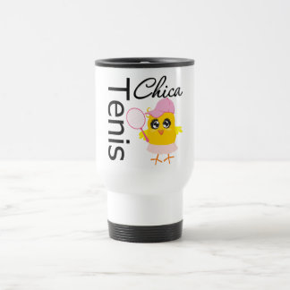 Tenis Chica 15 Oz Stainless Steel Travel Mug