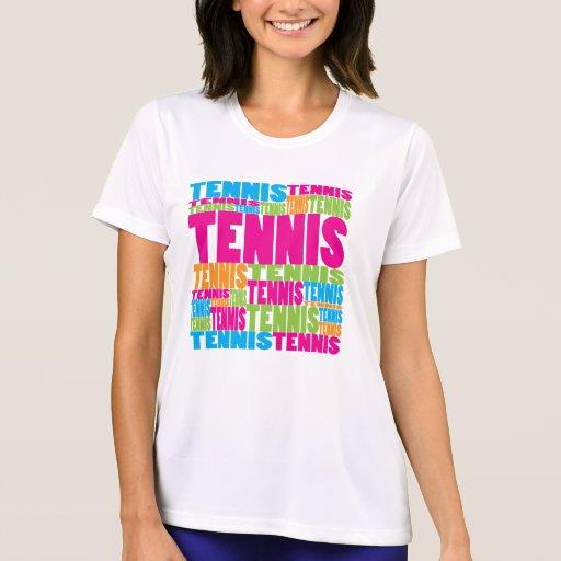 Tenis colorido playeras