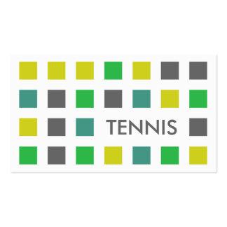 TENIS (cuadrados de la MOD) Tarjetas De Visita