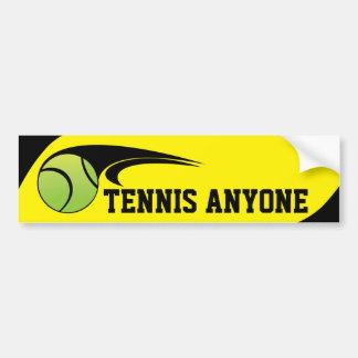 Tenis CUALQUIER PERSONA pegatina para el Pegatina Para Auto