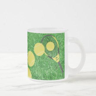 Tenis cualquier persona taza de café esmerilada