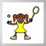 Tenis Cutie Poster