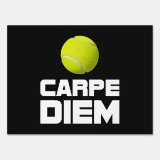 Tenis de Carpe Diem Letreros