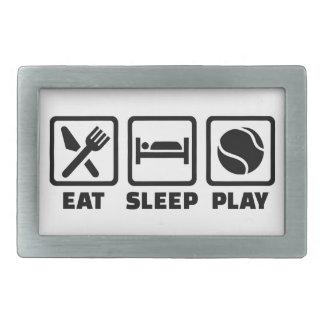Tenis de Eat Sleep Play Hebilla Cinturón Rectangular