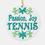 Tenis de la alegría de la pasión adorno