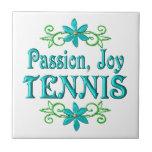 Tenis de la alegría de la pasión tejas  ceramicas