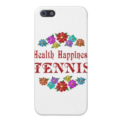 Tenis de la felicidad de la salud iPhone 5 cobertura