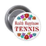 Tenis de la felicidad de la salud pin