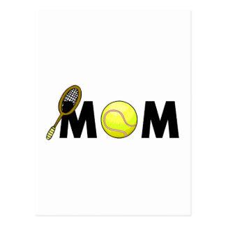 Tenis de la mamá tarjeta postal