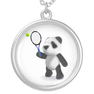 tenis de la panda del bebé 3d colgante redondo
