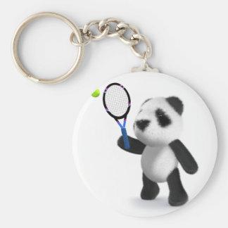 tenis de la panda del bebé 3d llaveros
