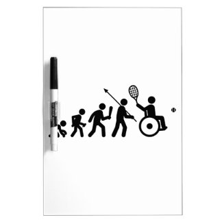 Tenis de la silla de ruedas pizarra blanca