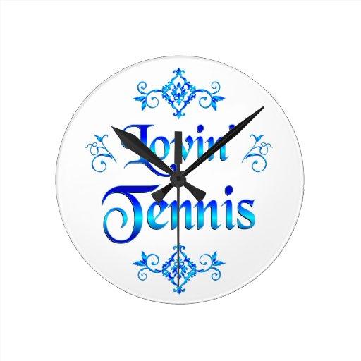 Tenis de Lovin Reloj De Pared