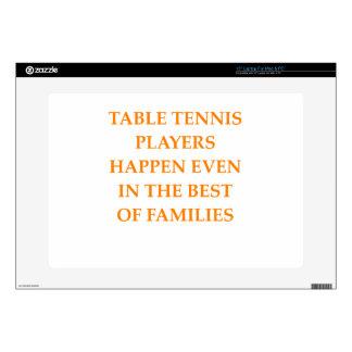 tenis de mesa 38,1cm portátil calcomanía
