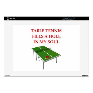 tenis de mesa calcomanías para portátiles