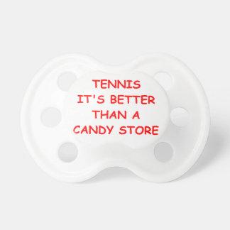 tenis de mesa chupetes de bebé