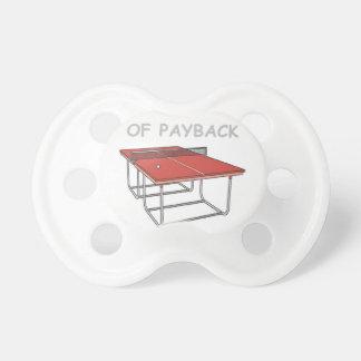 tenis de mesa chupetes