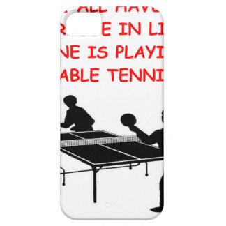 tenis de mesa iPhone 5 Case-Mate protector