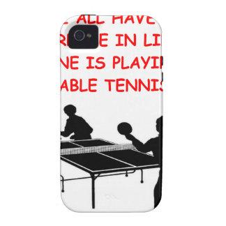 tenis de mesa iPhone 4 fundas