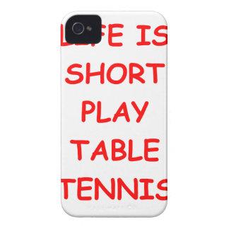 tenis de mesa iPhone 4 Case-Mate fundas