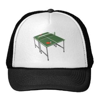 Tenis de mesa gorro
