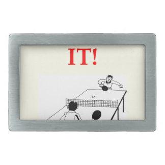 tenis de mesa hebillas de cinturón rectangulares