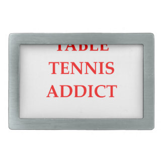 tenis de mesa hebillas de cinturon rectangulares