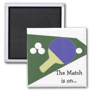 Tenis de mesa imán cuadrado