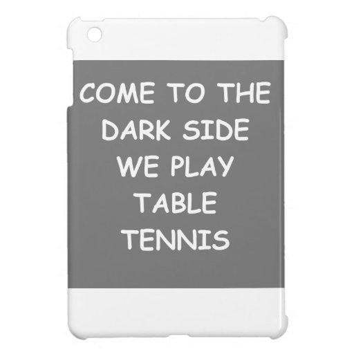 tenis de mesa iPad mini cárcasa