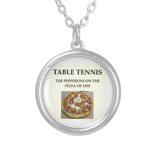 tenis de mesa joyeria personalizada