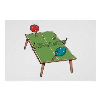 Tenis de mesa poster