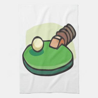 Tenis de mesa toallas de cocina
