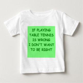 tenis de mesa t-shirts