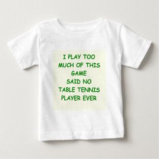 tenis de mesa t shirts