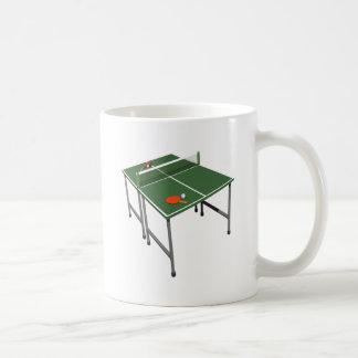 Tenis de mesa taza básica blanca