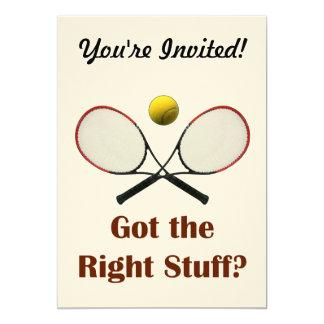 """Tenis de Right Stuff Invitación 5"""" X 7"""""""