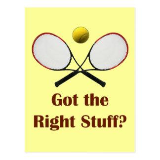Tenis de Right Stuff Tarjetas Postales