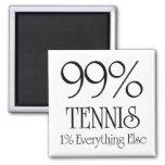 Tenis del 99% imán cuadrado