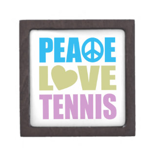 Tenis del amor de la paz caja de regalo de calidad