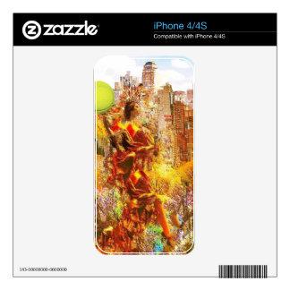 Tenis del amor de NY Calcomanías Para iPhone 4S