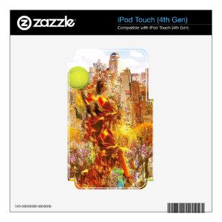 Tenis del amor de NY iPod Touch 4G Skin