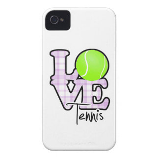 Tenis del amor Case-Mate iPhone 4 carcasas