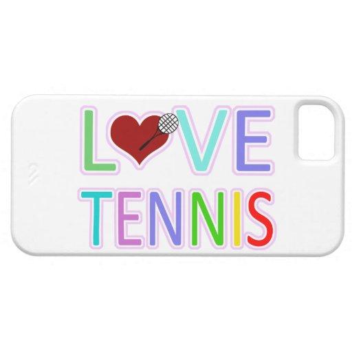 Tenis del AMOR iPhone 5 Fundas