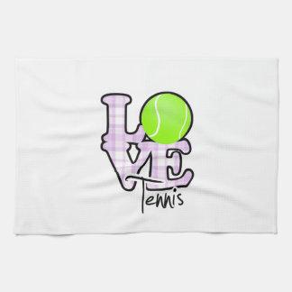Tenis del amor toallas
