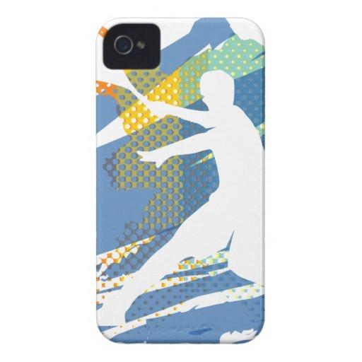 tenis del caso del iPhone iPhone 4 Case-Mate Cárcasa