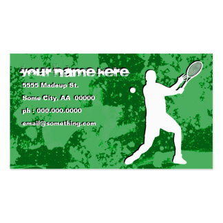 tenis del grunge tarjetas de visita