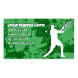 tenis del grunge tarjeta de negocio