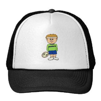 Tenis del muchacho gorras de camionero