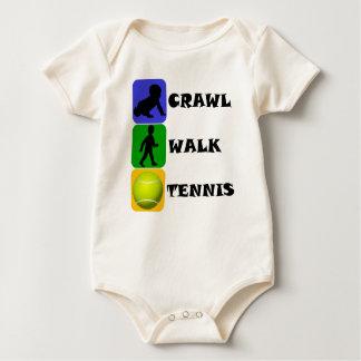Tenis del paseo del arrastre body para bebé