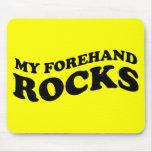Tenis divertido Mousepad: Mis rocas del cuarto del Tapetes De Ratones